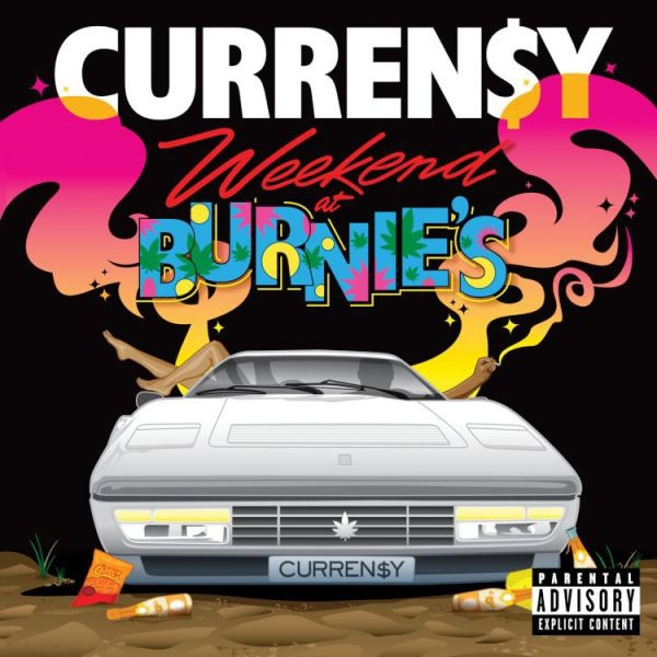 Curren$y Weekend at Burnie's Cover Art