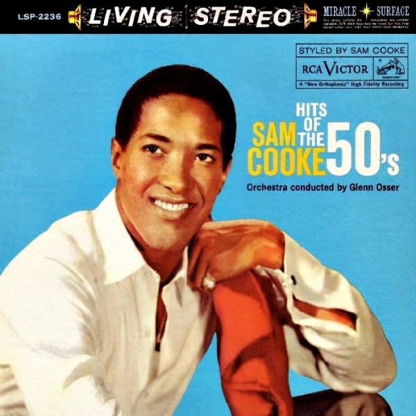Sam Cooke Hits of the 50's Cover Art