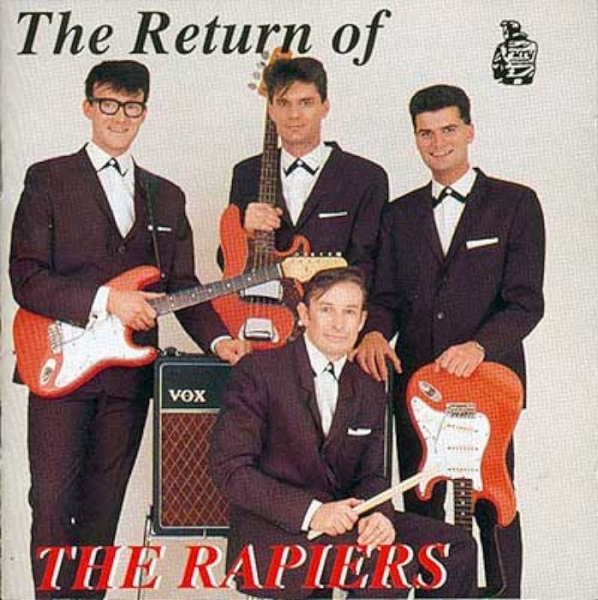 The Rapiers The Return of the Rapiers Cover Art