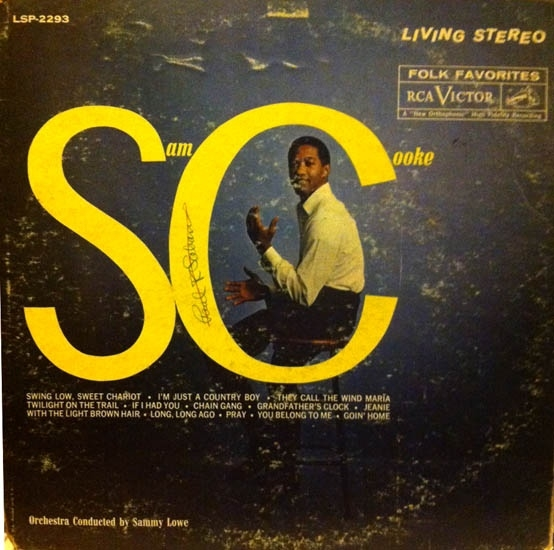 Sam Cooke Swing Low cover art