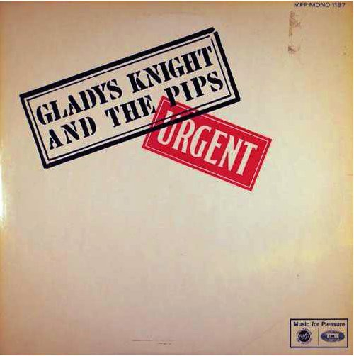 Gladys Knight and the Pips Urgent Cover Art