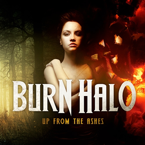Burn Halo Up from the Ashes cover art