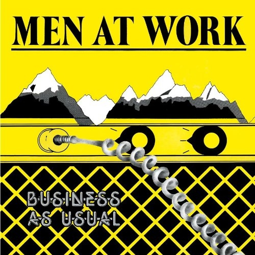 Men at Work Business as Usual cover art