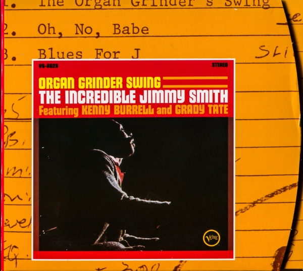 Jimmy Smith Organ Grinder Swing Cover Art