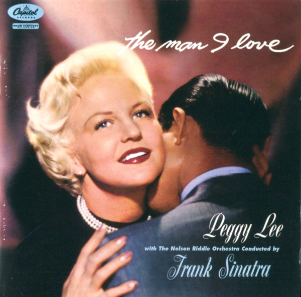 Peggy Lee The Man I Love Cover Art