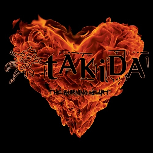 tAKiDA The Burning Heart Cover Art