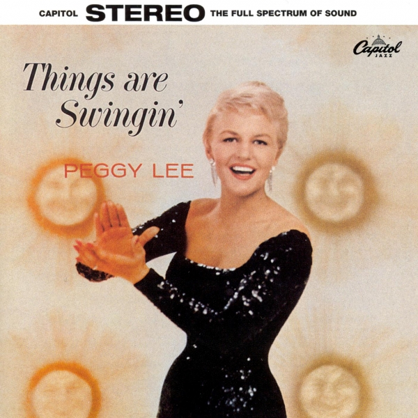 Peggy Lee Things Are Swingin' cover art