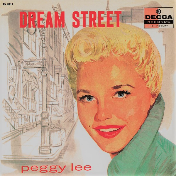 Peggy Lee Dream Street cover art