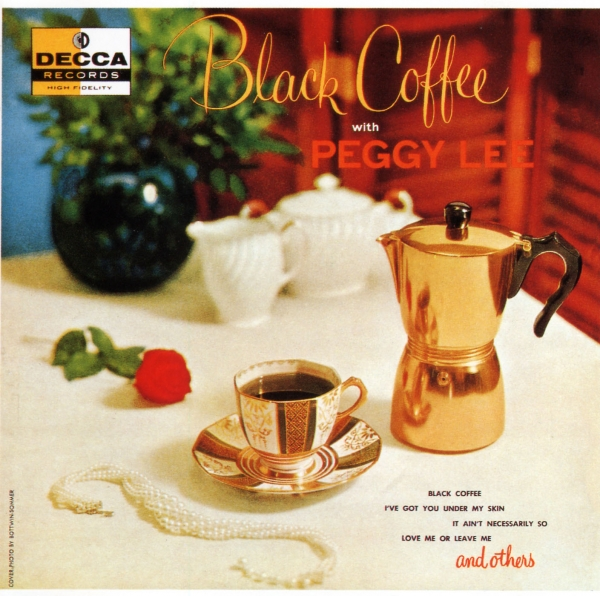 Peggy Lee Black Coffee With Peggy Lee cover art