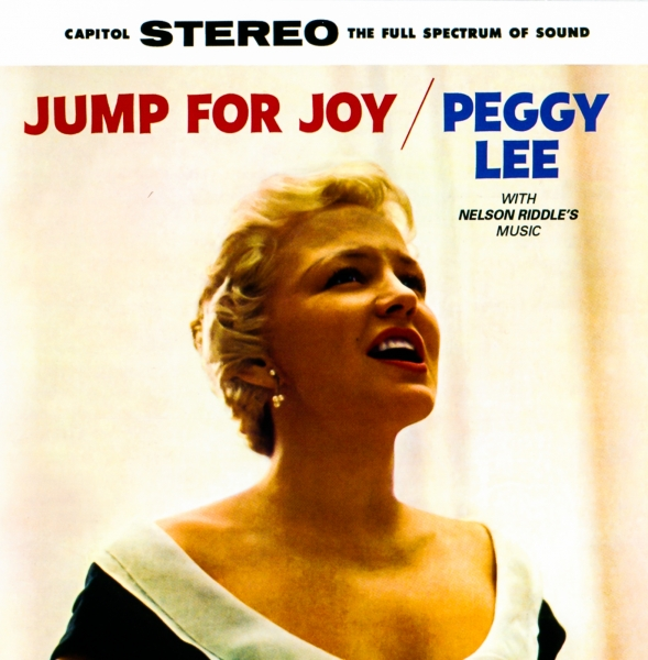 Peggy Lee Jump for Joy cover art