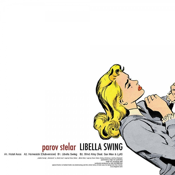 Parov Stelar Libella Swing Cover Art