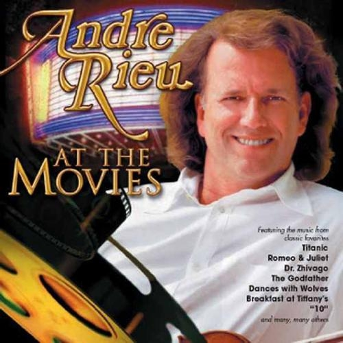 André Rieu At the Movies cover art