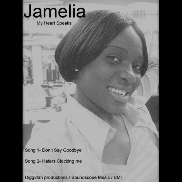 Jamelia My Heart Speaks Cover Art