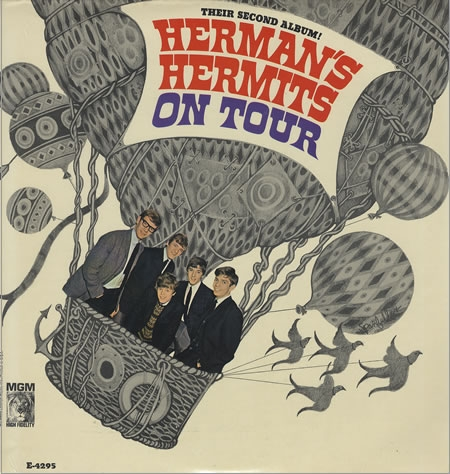 Herman's Hermits Herman's Hermits on Tour cover art