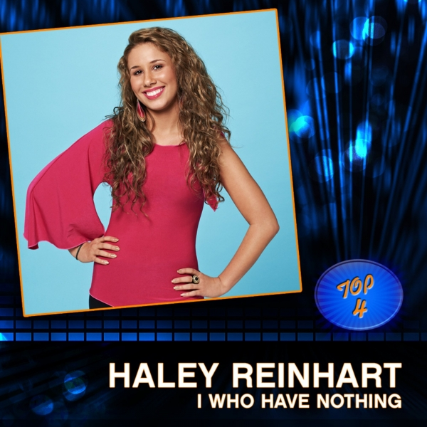 Haley Reinhart I Who Have Nothing Cover Art