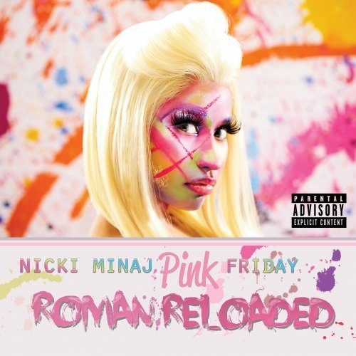 Nicki Minaj Pink Friday: Roman Reloaded cover art