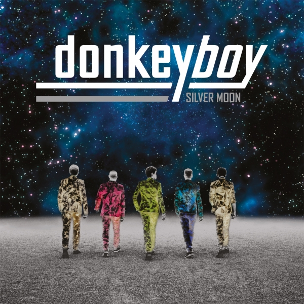 Donkeyboy Silver Moon Cover Art