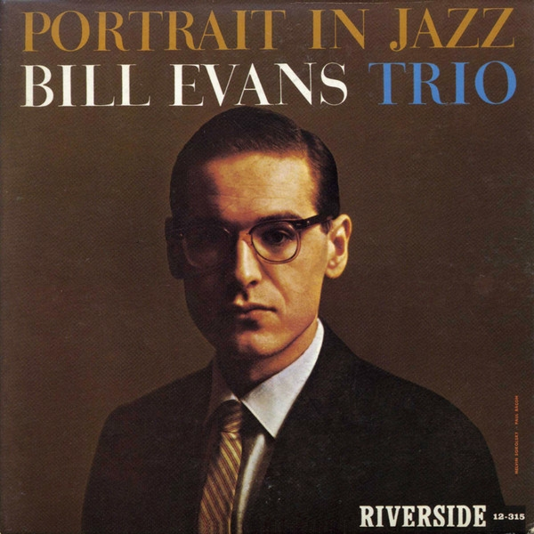 Bill Evans Trio Portrait in Jazz Cover Art