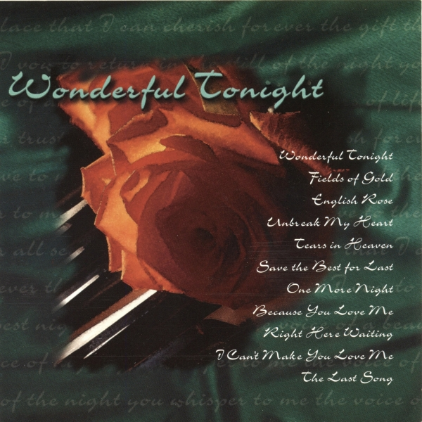 Brian Withycombe Wonderful Tonight cover art