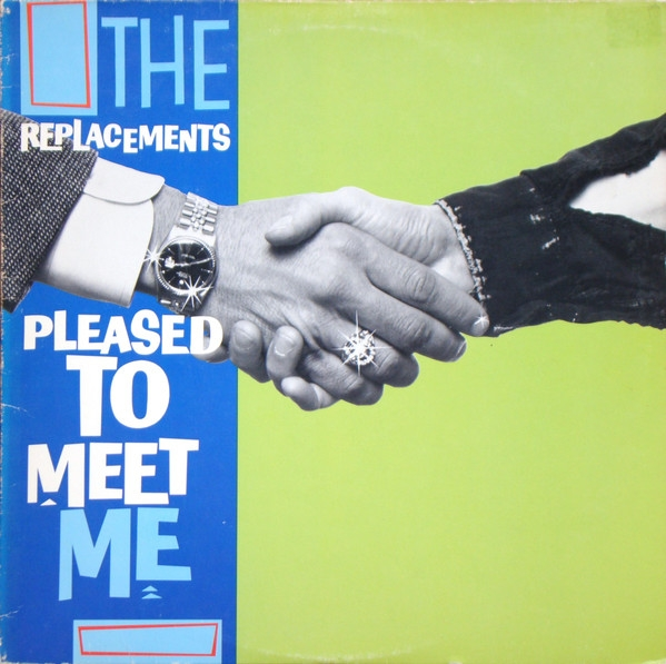 The Replacements Pleased to Meet Me cover art