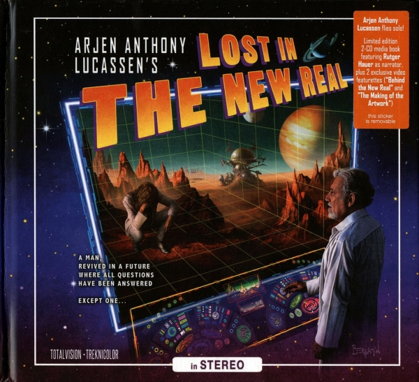 Arjen Anthony Lucassen Lost in the New Real Cover Art