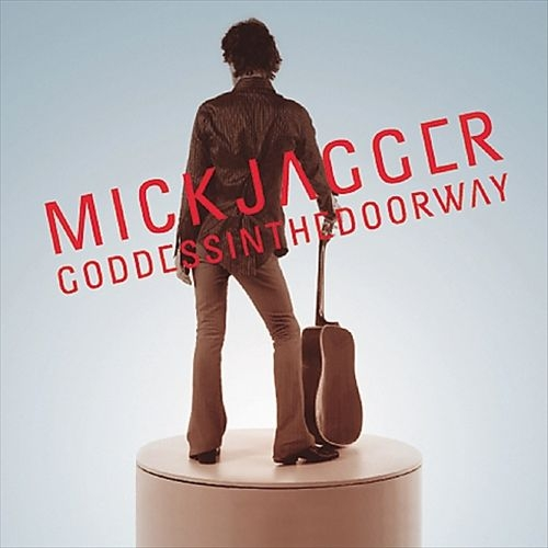 Mick Jagger Goddess in the Doorway Cover Art