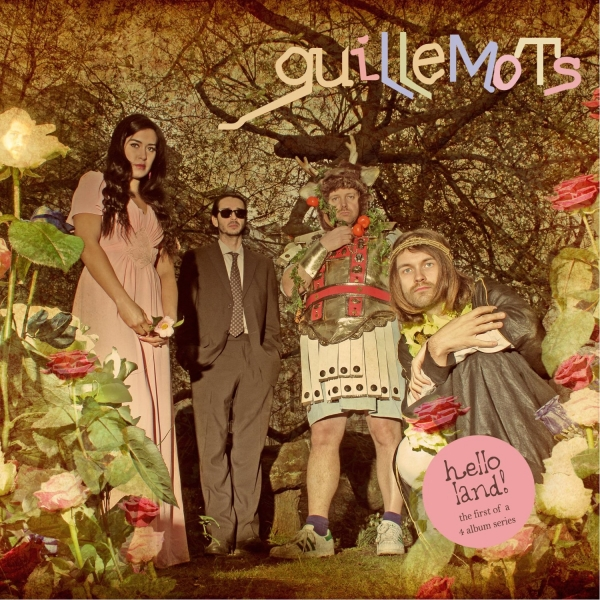 Guillemots Hello Land! cover art