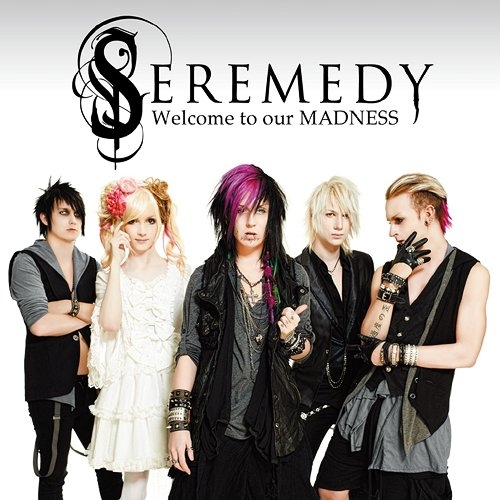 Seremedy Welcome to our MADNESS cover art