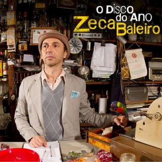 Zeca Baleiro O Disco Do Ano Cover Art