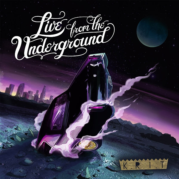 Big K.R.I.T. Live from the Underground Cover Art
