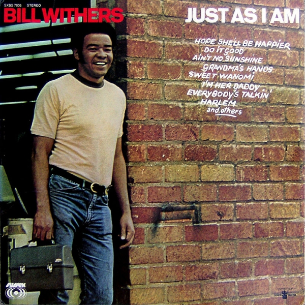Bill Withers Just As I Am cover art