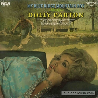 Dolly Parton My Blue Ridge Mountain Boy cover art