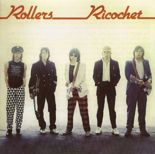 The Rollers Ricochet Cover Art