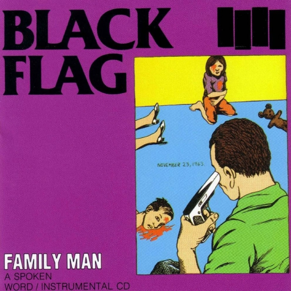 Black Flag Family Man cover art