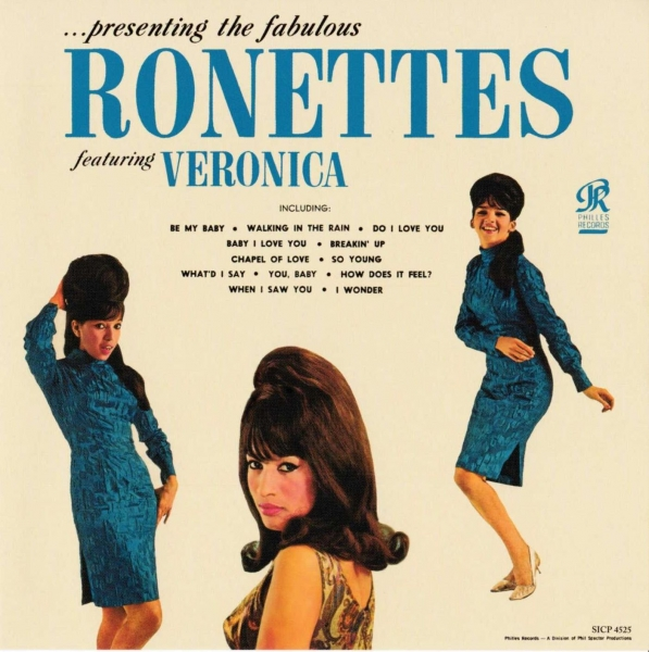 The Ronettes Presenting the Fabulous Ronettes Featuring Veronica cover art