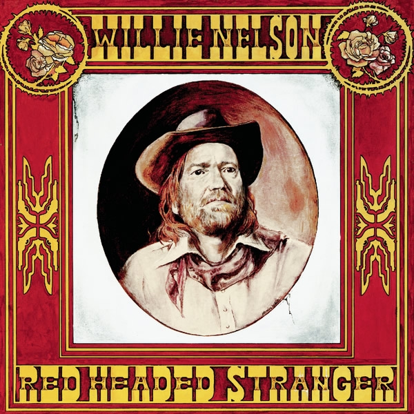 Willie Nelson Red Headed Stranger cover art
