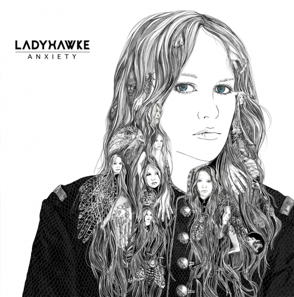 Ladyhawke Anxiety Cover Art
