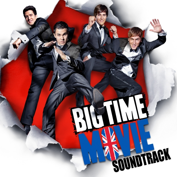Big Time Rush Big Time Movie Soundtrack Cover Art