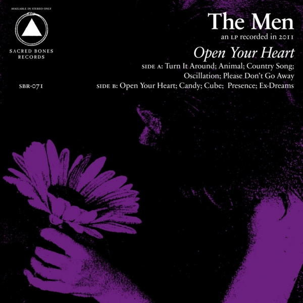 The Men Open Your Heart cover art
