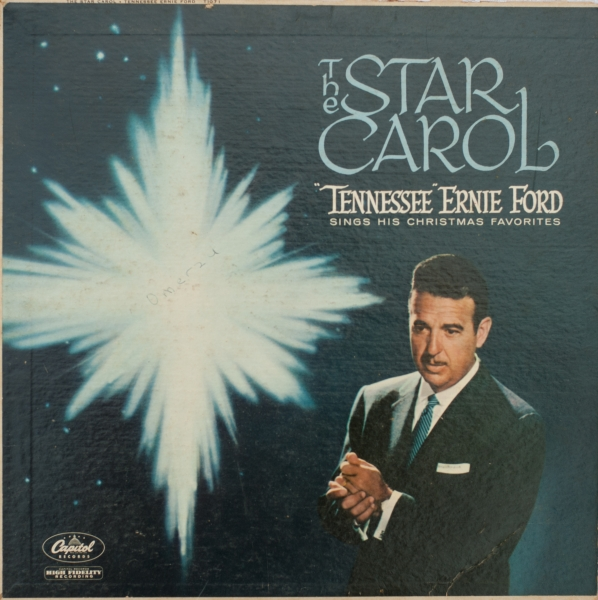 Tennessee Ernie Ford The Star Carol Cover Art