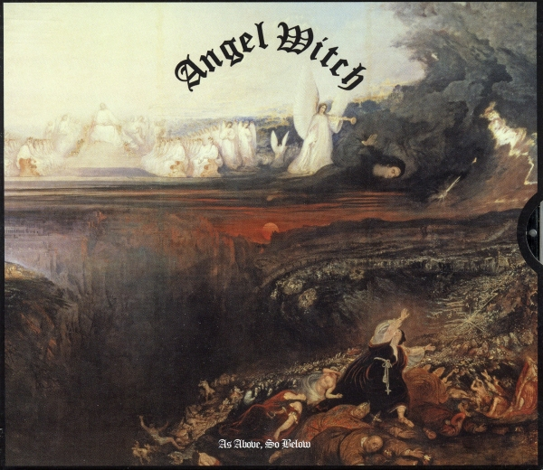 Angel Witch As Above, So Below cover art