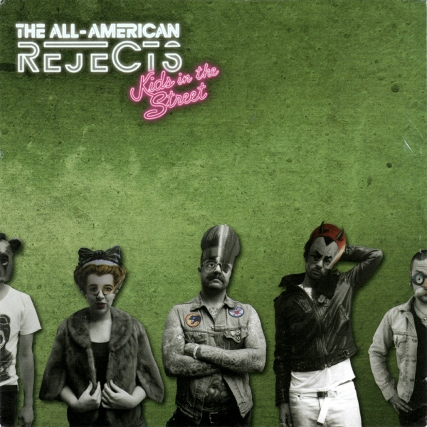 The All‐American Rejects Kids in the Street Cover Art