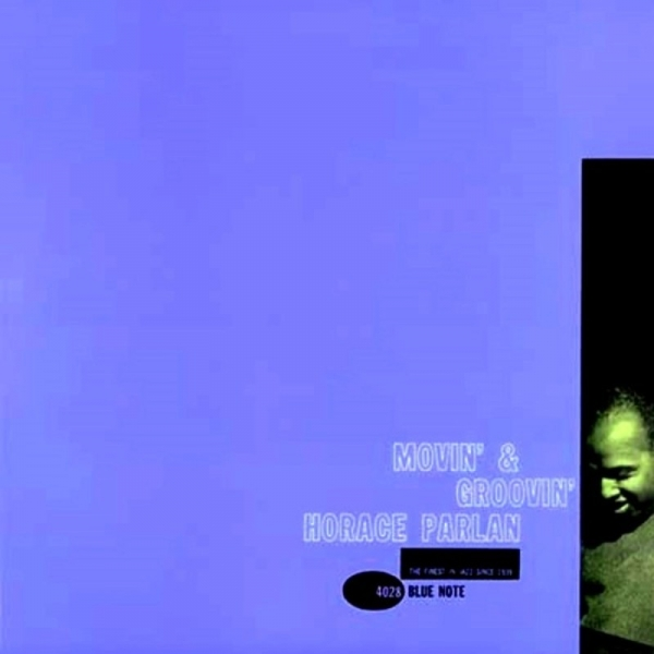 Horace Parlan Movin' & Groovin' Cover Art