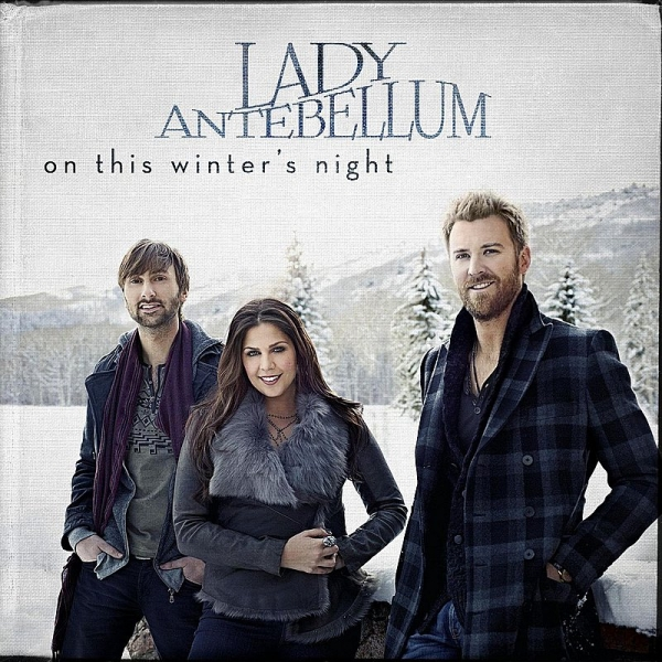 Lady Antebellum On This Winter's Night cover art