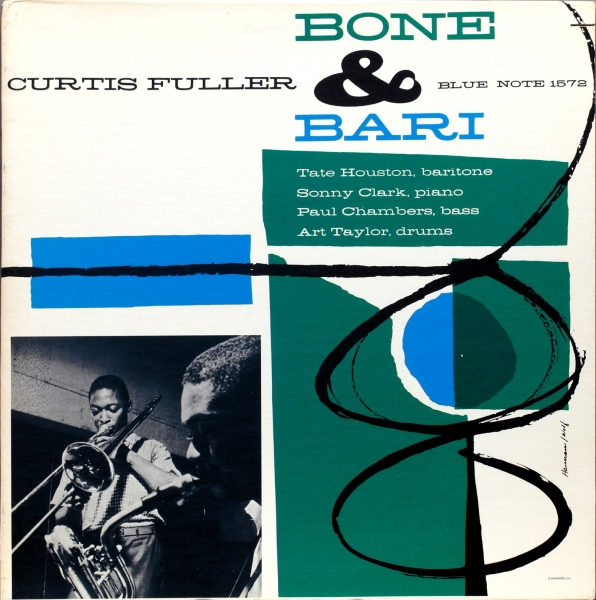 Curtis Fuller Bone & Bari cover art