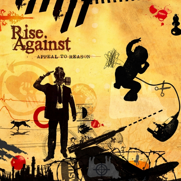 Rise Against Appeal to Reason cover art