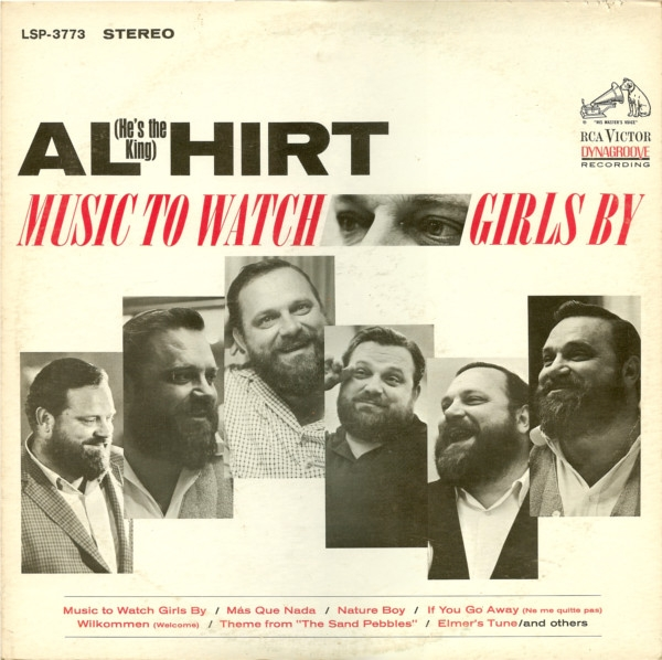 Al Hirt Music to Watch Girls By cover art