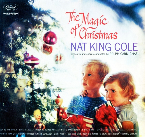 Nat King Cole The Christmas Song cover art