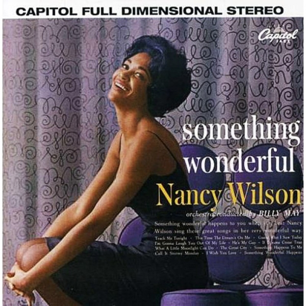 Nancy Wilson Something Wonderful cover art