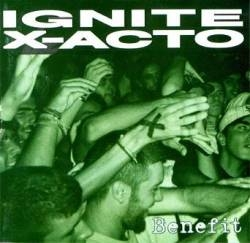 Ignite / X-Acto Benefit Cover Art